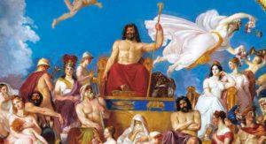 zeus il dio dell'olimpo